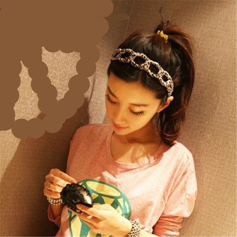 Summer Style Women Girl's New Fashion Turban Twist Headband Headwrap Knotted Soft Hair Band Hair Accessories rd678866(China (Mainland))