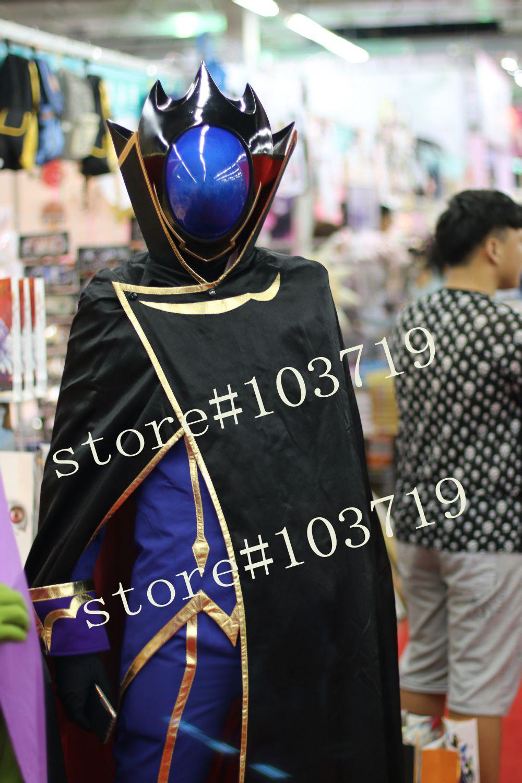 Здесь можно купить  Linglong Custom Made Code Geass Cosplay Costume Lelouch Lamperouge Cosplay Costume Set Lelouch Lamperouge Outfit  Одежда и аксессуары
