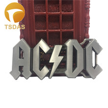 Classic AC DC ACDC Logo Rock Band Punk Music Style Boys Mens Metal Belt Buckle Classic Men's Jean accessories(China (Mainland))