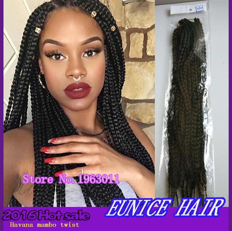 Crochet Box Braids With Kanekalon Hair : Braiding Hair 24inch 3s Box Braids Hair Synthetic Weave Crochet Hair ...