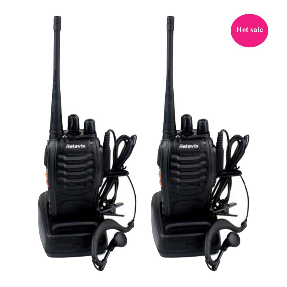 2 pcs Retevis H777 Walkie Talkie UHF 400-470MHz 16CH Ham Radio Hf Transceiver Portable Two Way Radio Amateur A9105A(China (Mainland))