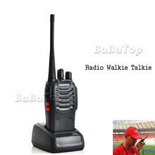 5W Portable  Handheld Radio Walkie Talkie  UHF 400-470MHZ phones  telecommunications two way radio  high quality