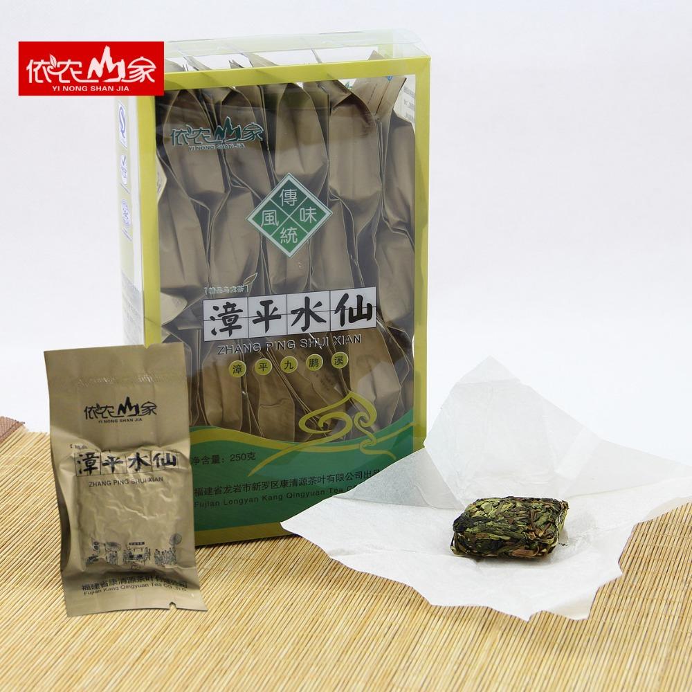 [GRANDNESS] 250g Fujian Zhangping shuixian narcissus Zhang Ping compressed organic health oolong tea shui xian tea<br><br>Aliexpress