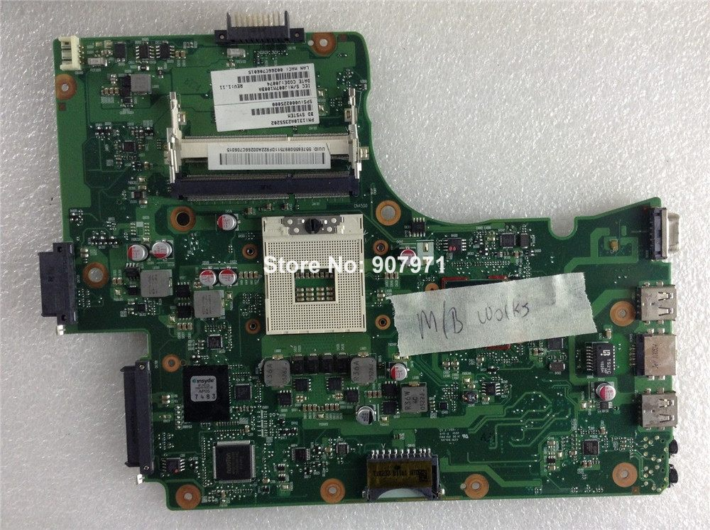 For Toshiba C650 C655 V000225000 Mainboard 6050A2355201-MB-A02 Laptop Motherboard Fully Tested To Work Well<br><br>Aliexpress