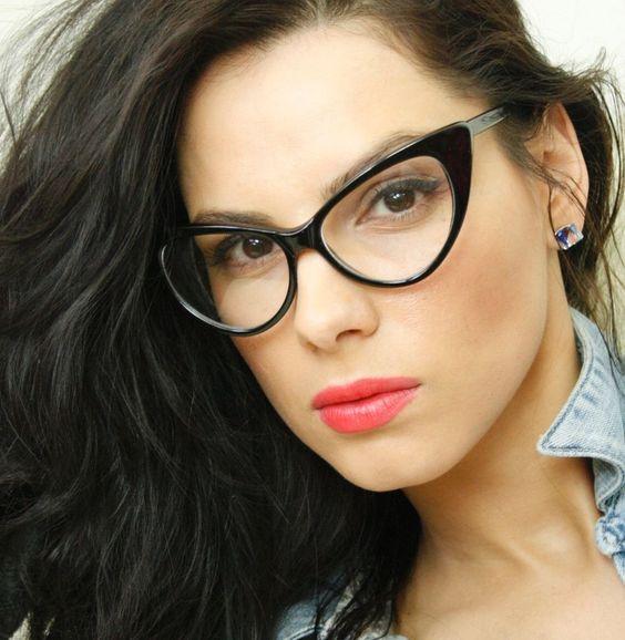 2017 sexy cat eye glasses frame women brand designer spectacles female eyeglass frames glasses transparent clear