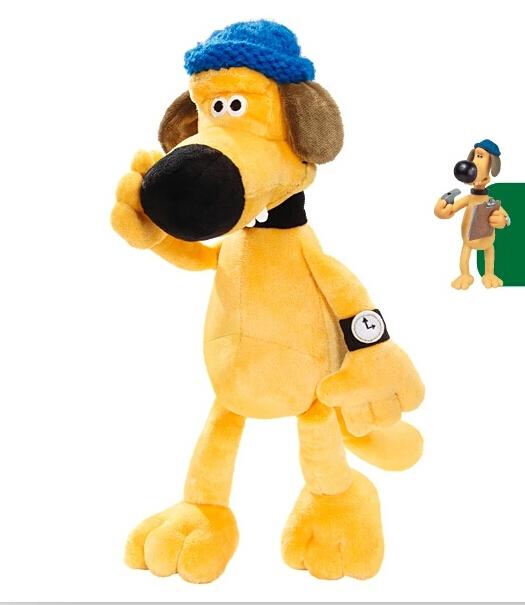 Plush toys Shaun The Sheep dog Bitzer doll birthday toys 25cm(China (Mainland))