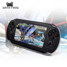 4.3'' Portable Handheld Game Players mp4 MP5 8GB Support For Camera Video E-book GBA Games TF Card with AV Cable Headset(China (Mainland))