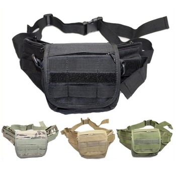 Multi-Mission Molle Tactical Waist Pack Outdoor Sports Airsoft Camping Hiking Cycling Climbing Travel Belt Utility Bags