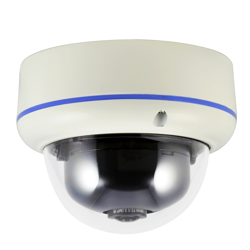 5MP 2592*1920P WiFi Fisheye IP dome Camera 185 degrees Indoor Security TI DSP Network P2P Onvif ( SIP-H361HW)(China (Mainland))