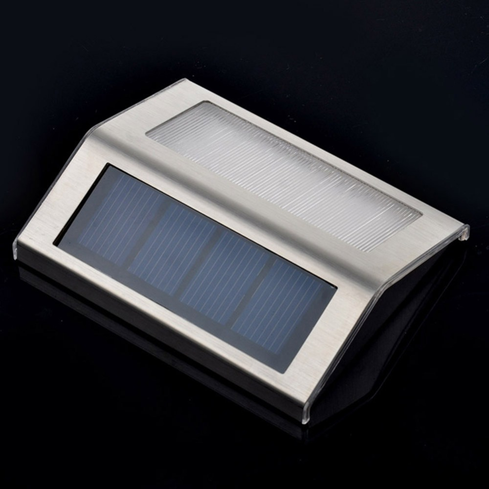 2pcs lot mini led solar light outdoor solar lights cold warm white solar stair lights indoor led. Black Bedroom Furniture Sets. Home Design Ideas