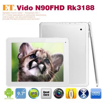Vido N90 FHD RK3188 Quad Core 9.7 inch Tablet PC Retina 2048x1536 Android 4.1 2GB 16GB WIFI OTG HDMI