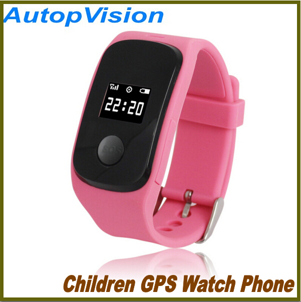GPS LBS double location Two-way Call mini tracking locator watch phone for kids with SOS functions PG22(China (Mainland))