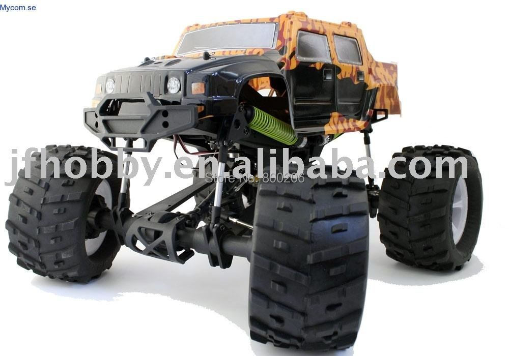RC Gas Car 1/8 Monster Truck(China (Mainland))