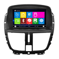 Car dvd for Peugeot 207 car gps radio dvd player with gps BT radio ATV Ipod