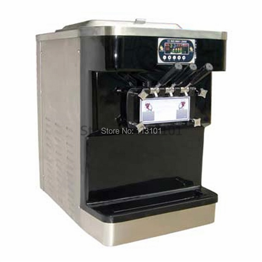 New commercial soft ice cream machine stainless steel