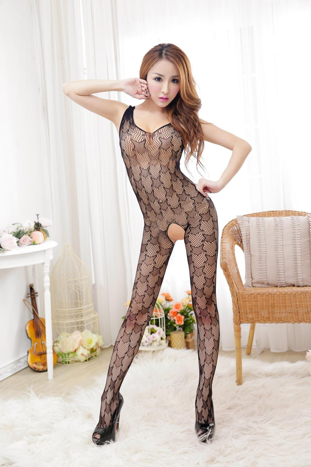 Free Shipping, 2015 Hot Sale Sex Products ,bodystocking Open Crotch Tights,black Erotic Underwear ,sexy Leotards For Women(China (Mainland))