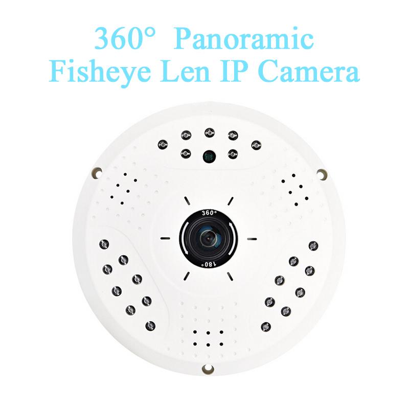 HD 5Mp 360 degree fisheye p2p ip camera motion alarm hd onvif security camara network Cam(China (Mainland))