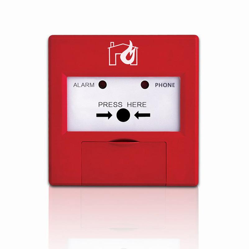 glass broken button  Intelligent manual call point  fire alarm system
