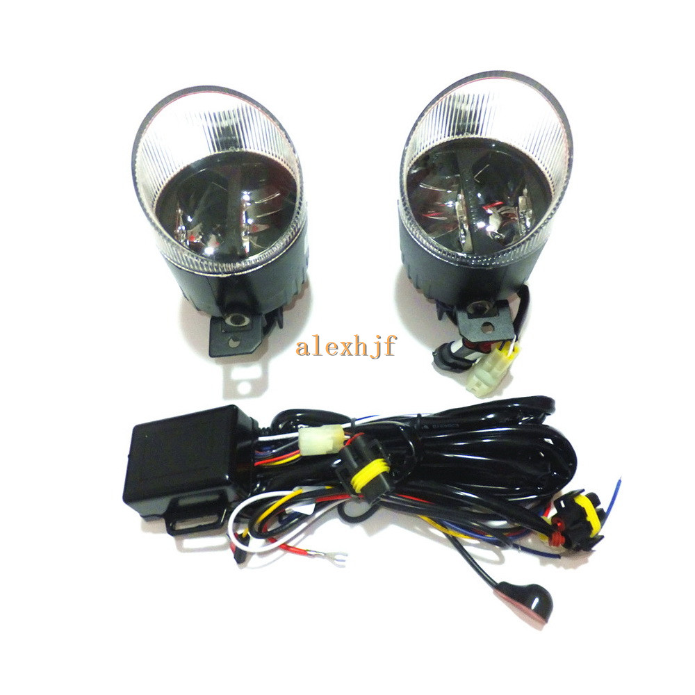 1400LM 24W LED Fog Lamp, High-beam and Low-beam + 560LM DRL Case For Nissan Almera Altima Teana etc, Automatic light-sensitive(China (Mainland))