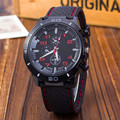Fashion Sports Brand watch relojes para hombre men s Military watches Silicone quartz Relogio Masculino outdoor