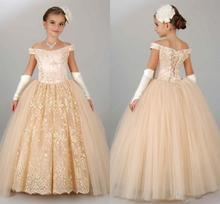 Lace Girls Pageant Dresses