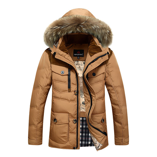 2015 Fashion New Thickening Plus Size Parka Men s Winter Jackets Coat Man 90 Duck Down