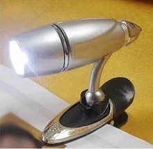 Students Learn Essential Goods Bullet Clip Book Lamp Led Reading Light Book Clip Lamp Small Book Light MINI EBook Light(China (Mainland))