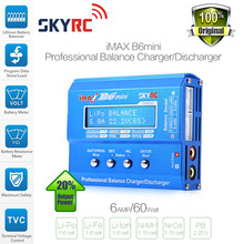 Genuine SKYRC iMAX B6 Mini 60W Professional Lipo Balance Charger Discharger For RC Battery Charging  Re-peak Mode For NIMH/NICD(China (Mainland))