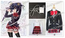 Buy Chuunibyou demo Koi ga Shitai! Love, Chunibyo & Delusions Rikka Takanashi Cosplay Costume Tailor made for $74.00 in AliExpress store