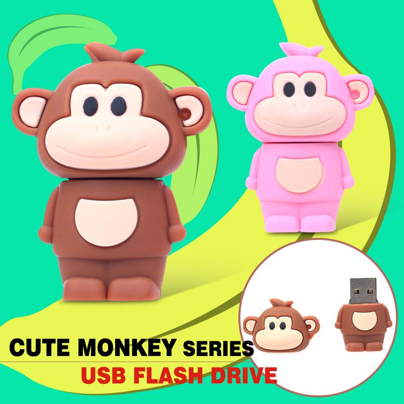 USB Flash Drive Novelty Pen Drive 32GB Cartoon Pendrive 32/16/8/4gb USB Stick Gift flash drive Free Shipping Memoria USB(China (Mainland))