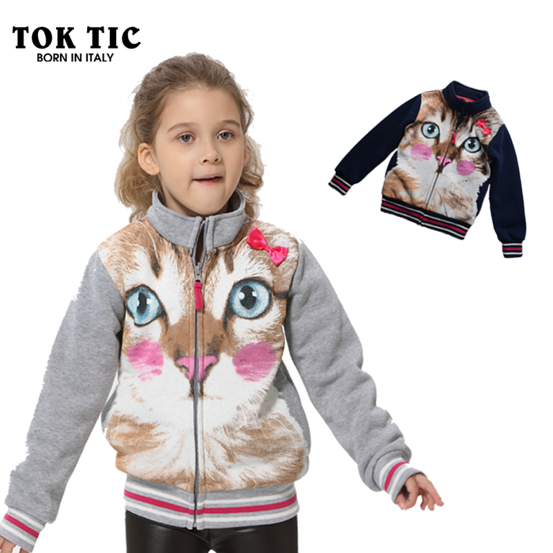 Гаджет  children girl 3D print hoodies kids spring/autumn long sleeve jacket girl clothing children fleece hoodies & sweatshirt 4-12year None Детские товары