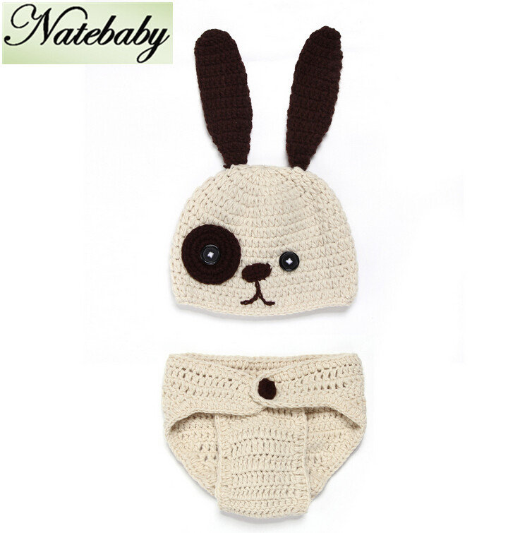 New pattern hand knitted yarn newborn baby one hundred days baby photo suit all-match photographed props NC0366(China (Mainland))