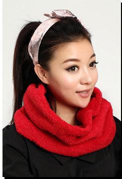 Мода зимой шарфы 2015 женщин искусственного меха шарф шею теплым бесконечности круг ...