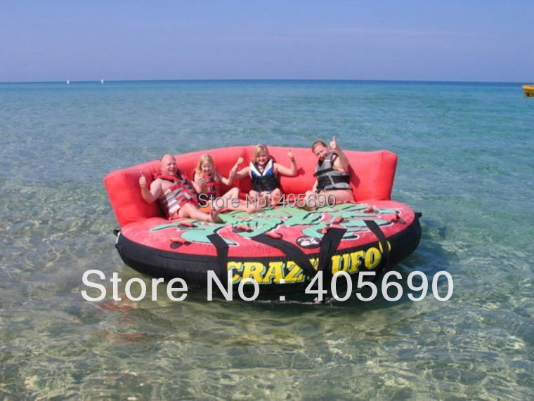 inflatable crazy UFO for water ski<br>