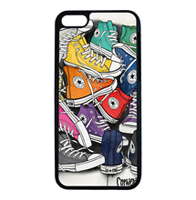 Colorful Shoes Collection Pop Art Cool For iPhone 6 6s 7 Plus Case TPU Phone Cases Cover Mobile Decor Gift(China (Mainland))