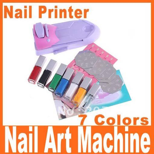 Nail Polish Stamping Machine