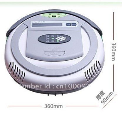 Auto Vacuum cleaner>>Robot vacuum cleaner >>Intelligent cleaner/Vacuum cleaner QQ-2L