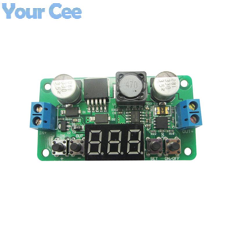LM2596 DC-DC Step Down Power Supply Buck Converter Module Adjustable Regulator Constant Voltage Meter Voltmeter Led Display(China (Mainland))