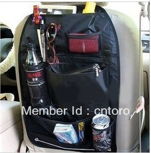 Car multi function Pocket Storage Organizer Bag seatback bag dropship(China (Mainland))