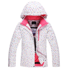 Ski suit Women plus velvet thickening thermal winter waterproof outdoor monoboard skiing font b clothing b