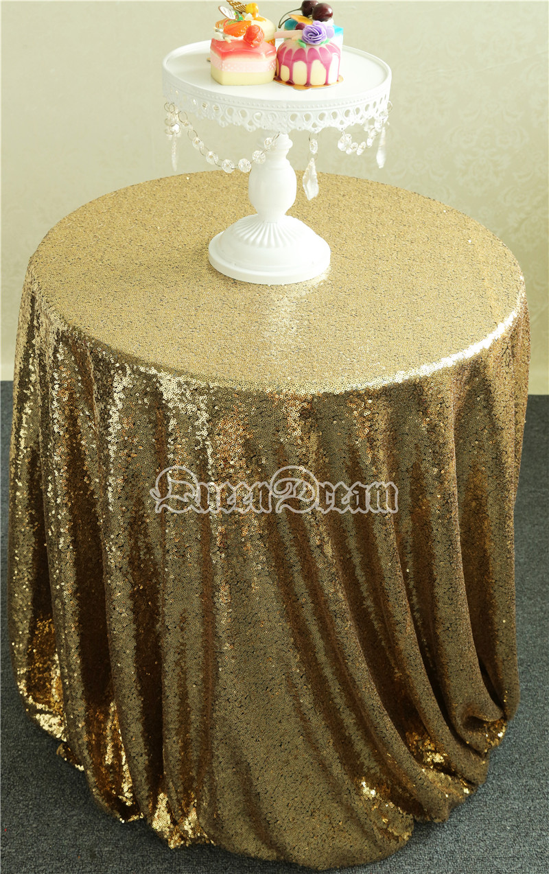 108'' Round Black Gold Sequins tablecloth, thanksgiving tablecloth,Chirstmas tablecloth Shimmer Curtains(China (Mainland))