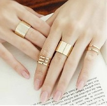 2015 New 3Pcs Set Fashion Top Of Finger Over The Midi Tip Finger Above The Knuckle