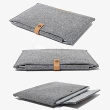 New Felt Sleeve Laptop Case Cover Bag for Apple MacBook Air Pro Retina 11″ 12″ 13″ 15″