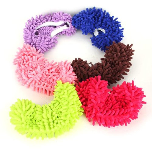 Dust Mop Slippers Shoes Floor Cleaner Clean Easy Bathroom Office Kitchen(China (Mainland))