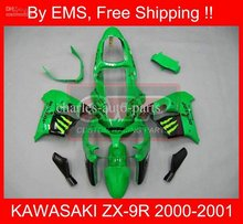 for KAWASAKI ZX9R 00-01 2000-2001 9R 00 01 ZX 9R 2000 2001 Green Full Fairing 2121