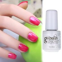 Chariming Removable Uv Phototherapy Long lasting Nail Art Gel Nail Polish 5ml Nail Accessories 19