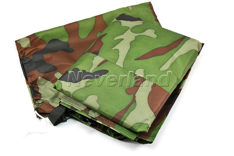 Motorcycle Covering Waterproof Dustproof Scooter Cover UV resistant Heavy Racing Bike Cover Camouflage 245*105*125cm XL C10(China (Mainland))