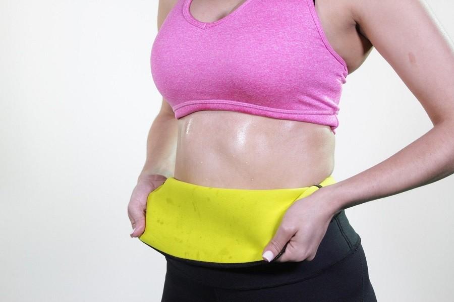 ( Pant +  Belt ) Hot Shaper Slimming Pants & Belts Super Stretch Neoprene Breeches For Slimming For Women
