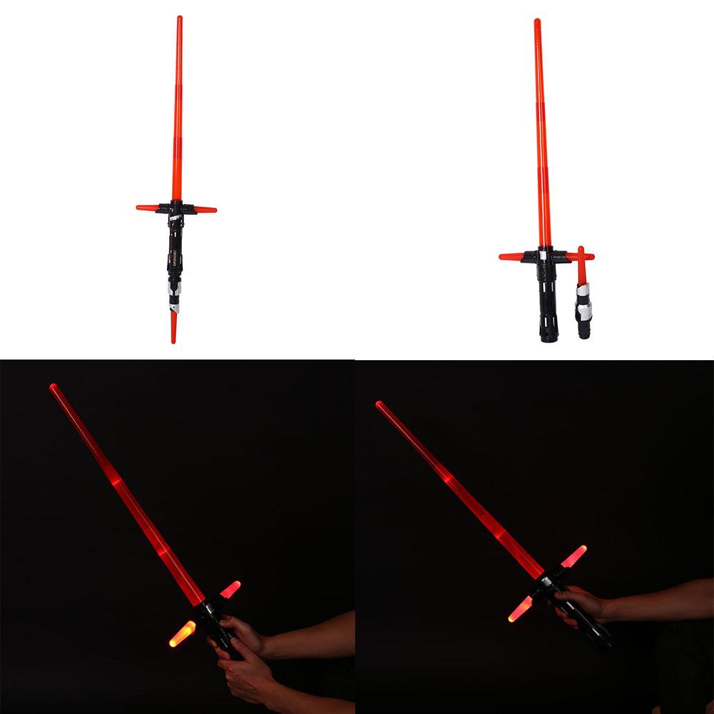 Cosplay Star Wars The Force Awakens Kylo Ren Lightsaber w/ Light&Sound