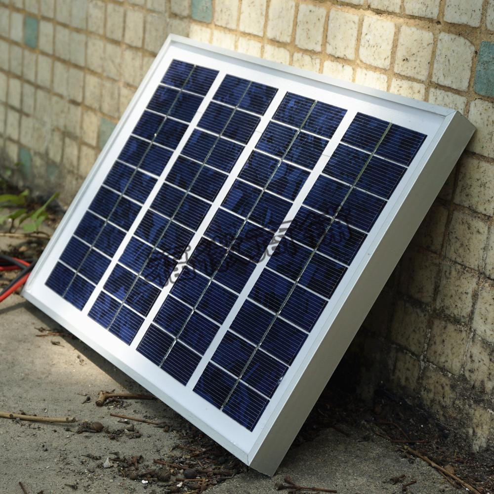 5w solar panel photovoltaic solar module to charge the 12V battery direct solar(China (Mainland))